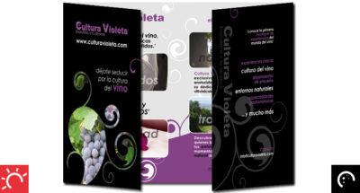 Dípticos «Cultura Violeta»