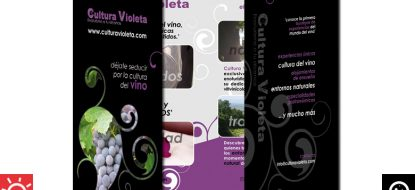 "Dípticos ""Cultura Violeta"""