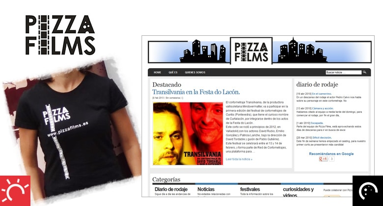 "Identidad ""Pizza Films"""
