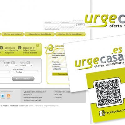 """Identidad """"Urgecasa"""""""