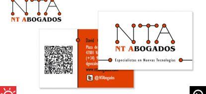 "Tarjetas ""NT-Abogados"""